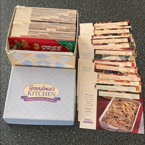 Grandmas Kitchen Kitchen Grandmas Kitchen Family Recipes Cards Poshmark